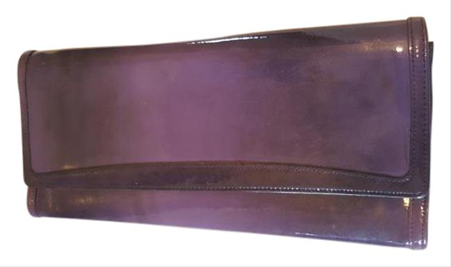 Purple Patent Leather Clutch Purple Patent Leather Clutch Image 1