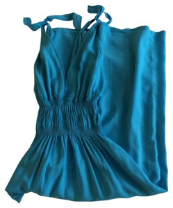 Turquoise Maxi Dress by Barneys Co-Op