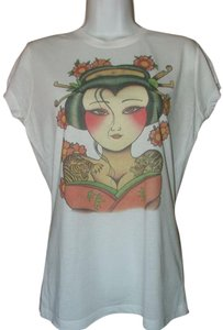 Asian Tattoo Artist T Shirt White