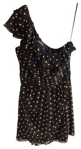 A.B.S. by Allen Schwartz Polka Dot Ruffle One Dress