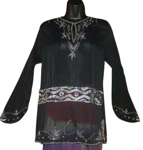 Raiment Bohemian Festival Beaded Tunic