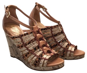Cole Haan Snake and leopard multi Wedges