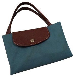 Longchamp Tote in Azure blue