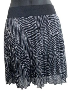 Ultra Flirt Animalprint Chiffon Mini Skirt Multicolored