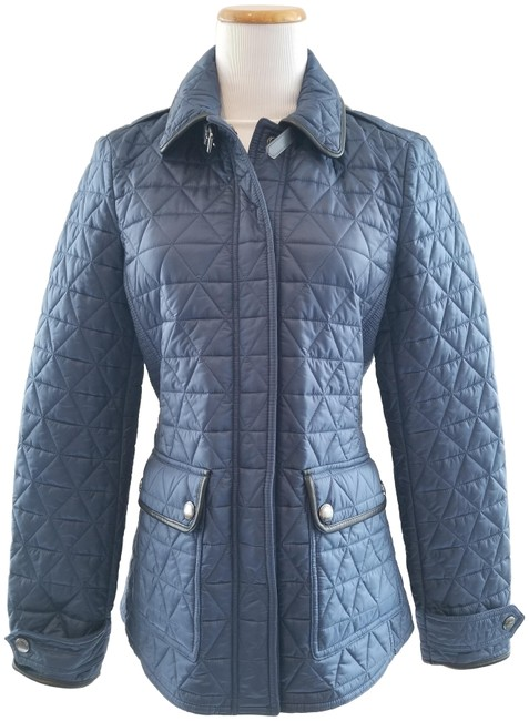 Item - Steel Blue Lunesbury Quilted Jacket Size 6 (S)