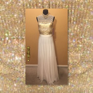 Jovani Beaded Sequin Prom Wedding Dress