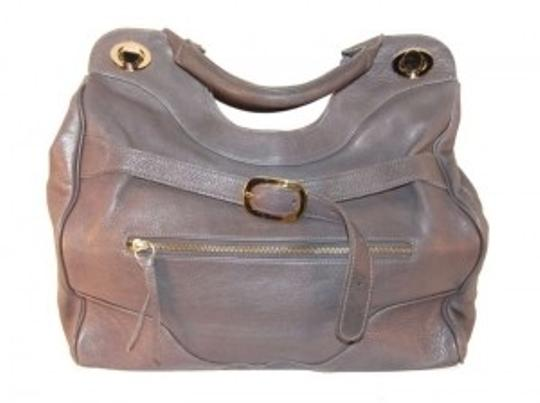Preload https://item2.tradesy.com/images/foley-corinna-the-setter-jr-grey-leather-tote-158436-0-0.jpg?width=440&height=440