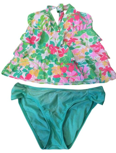 Preload https://img-static.tradesy.com/item/15843670/kim-rogers-green-and-pink-tankini-size-6-s-0-1-650-650.jpg