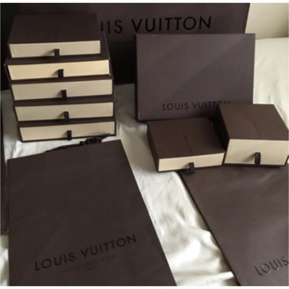 0c8c297fd6270 Louis Vuitton Lot Boxes and Shopping Bags - Tradesy