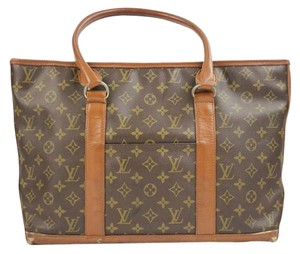 Louis Vuitton Neverfull Keepall Travel Tote in Monogram