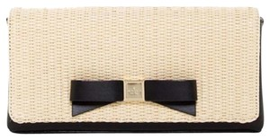 Kate Spade Black/Straw Clutch