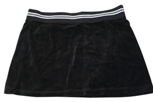 Express Mini Skirt Black velour