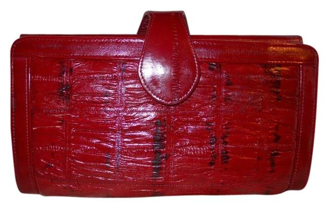Red Clutch Wallet Red Clutch Wallet Image 1