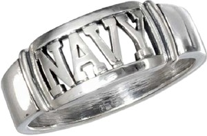 Other .925 Sterling Silver U.S. Navy Ring