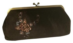 Express Brown, bronze Clutch