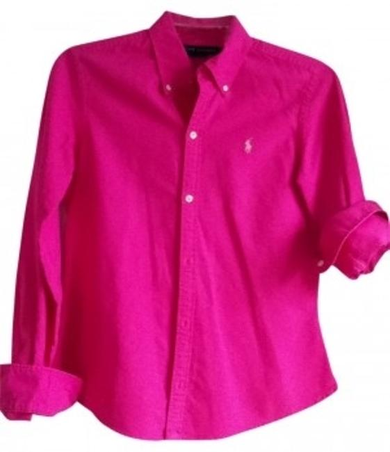 Preload https://item2.tradesy.com/images/ralph-lauren-pink-oxford-button-down-top-size-4-s-158446-0-0.jpg?width=400&height=650