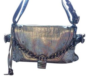 Chlo Metallic Leather Shoulder Bag