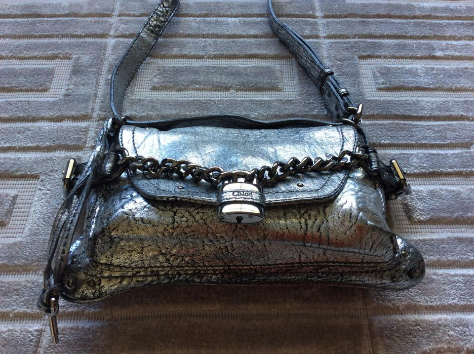 replica chloe purse - Chlo�� Paddington Metallic Argent Shoulder Bag on Sale, 58% Off ...