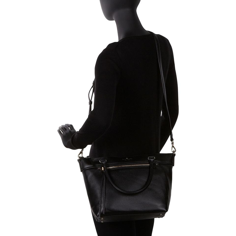 ... Kate Spade New York Cobble Hill Small Gina Tote Black Leather Shoulder  Bag official photos 29601 ... 55e1555ae7d62