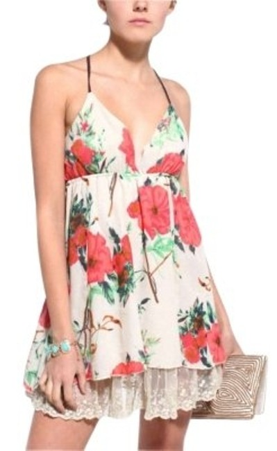 Forever 21 short dress Floral on Tradesy