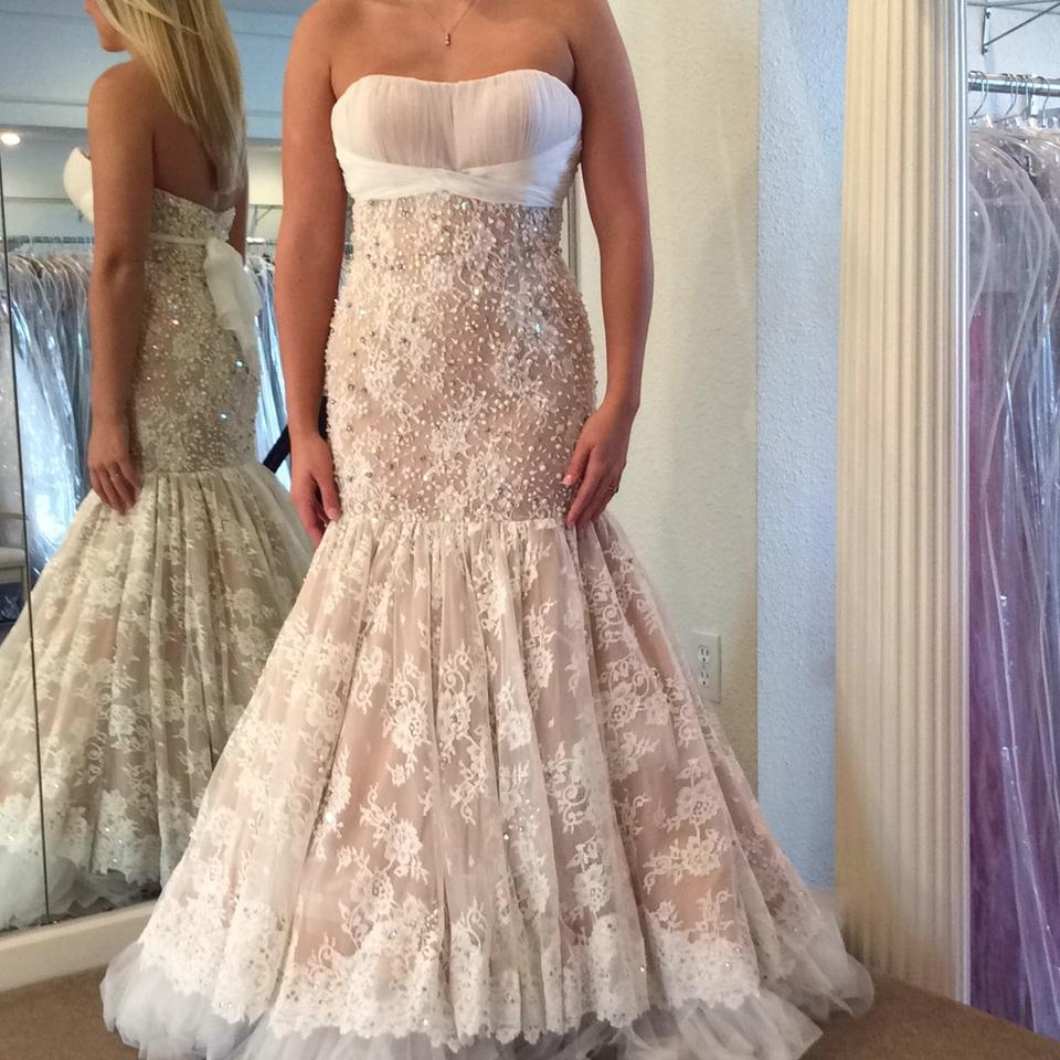 Sherri hill wedding dress on tradesy for Wedding dress sherri hill