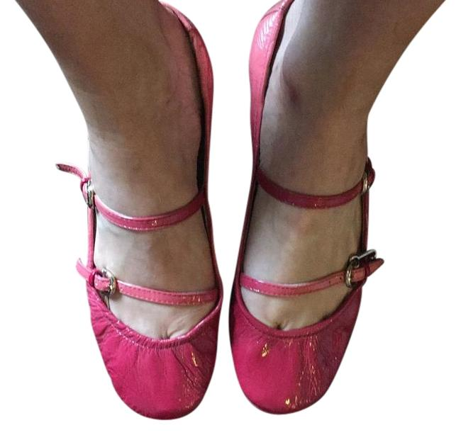 Juicy Couture Pink Ruthie Flats Size US 7 Regular (M, B) Juicy Couture Pink Ruthie Flats Size US 7 Regular (M, B) Image 1