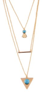 Other Sibel Turquoise Multi Layered Necklace