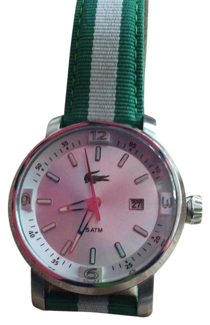 Item - Green and White Watch