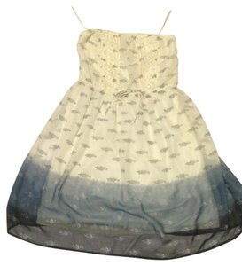 Mudd short dress Sheer Blue Ombre on Tradesy