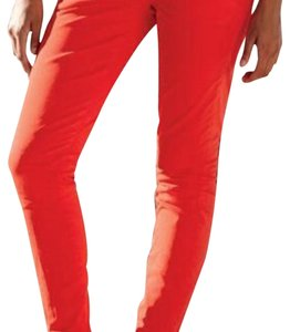 J.Crew Skinny Pants Belvedere Red