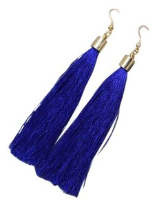 Other TALISA Earrings in Royal Blue Tassel