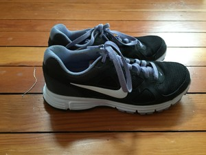 Nike Black and Lavender Athletic