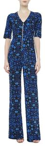 Nanette Lepore Blue Jumpsuit Dress