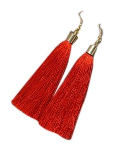 Other TALISA Earrings in red Tassel