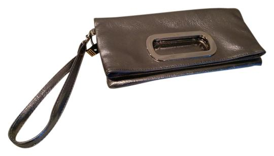 Other Clutch Wristlet in Silver