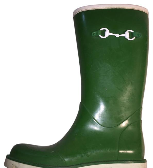 Gucci Rubber Rainboots Boots/Booties Size US 7 Regular (M, B) Gucci Rubber Rainboots Boots/Booties Size US 7 Regular (M, B) Image 1