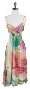 Diane von Furstenberg Multi Color Silk Dress