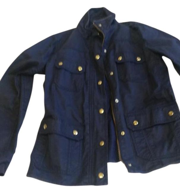 Item - Navy The Downtown Field Jacket Size 6 (S)