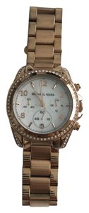 Michael Kors Michael Kors Rose Gold Blair Chronograph Watch