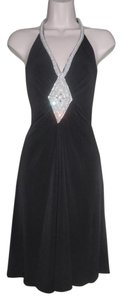Moda International Formal Halter Date Night Dress