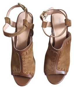 Sole Society Tan, brown Wedges