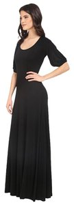 black Maxi Dress by Rachel Pally Kristi Maxi Long Size Medium Clearance