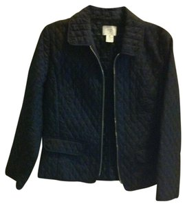 Ann Taylor LOFT Black Quilted Jacket