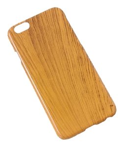 BRAND NEW Copper Orange Wood Grain Faux Wood Protective iPhone 6 Cover 4.7 Inch