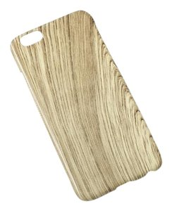 BRAND NEW Ivory Wood Grain Faux Wood Protective iPhone 6 Cover 4.7 Inch