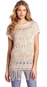 Anthropologie Crochet Open Knit Tunic