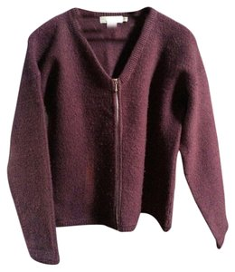 Zip Up Tweeds Cardigan