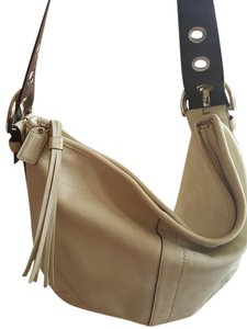Coach Ali Leather Adjustable Hobo Bag