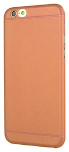 Other Orange iPhone6 Back Cover Case Hard Case Cover for Iphone 6 5.5Inch
