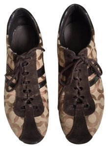 Coach Signature Sneakers Brown Athletic